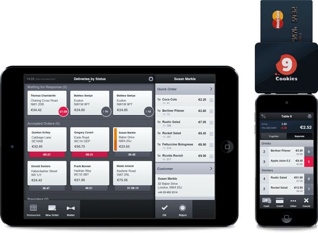 Level1 GmbH develops the mobile iOS app for 9Cookies GmbH.